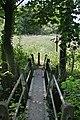 Footbridge over the Potwell Dyke - geograph.org.uk - 838785.jpg