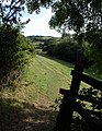 Footpath to Combe - geograph.org.uk - 1523813.jpg