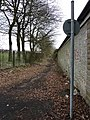 Footpath to the right at the end of Edge End Lane - geograph.org.uk - 1780127.jpg