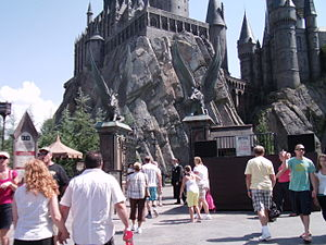 Harry Potter and the Forbidden Journey - Entrance to the ride at Islands of Adventure