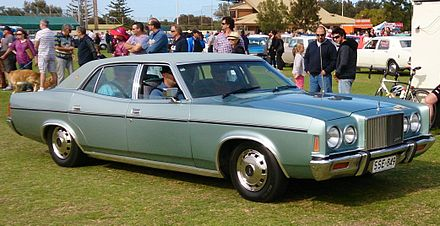 1976–1979 Ford P6 LTD - Ford Fairlane (Australia)