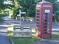 Ford Street telephone box - geograph.org.uk - 838245.jpg