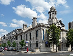 Metropolitan Borough of Bethnal Green - Bethnal Green Town Hall