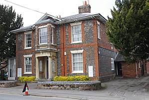 Wantage - Former head office of Wantage Urban District Council in Portway