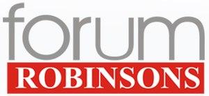 Forum Robinsons - Image: Forum Robinsons Logo