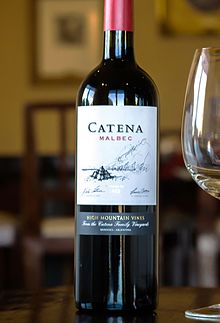 Classic Argentine Malbec made from high altitude vineyard