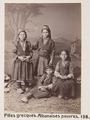 Fotografi av fyra barn - Hallwylska museet - 103095.tif