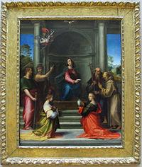 Fra bartolomeo, incarnazione di cristo, 1515, 01.JPG