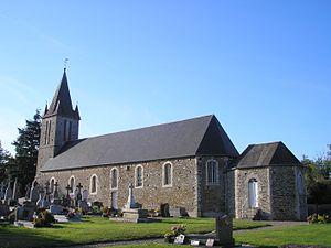 L'église Saint-Jean.
