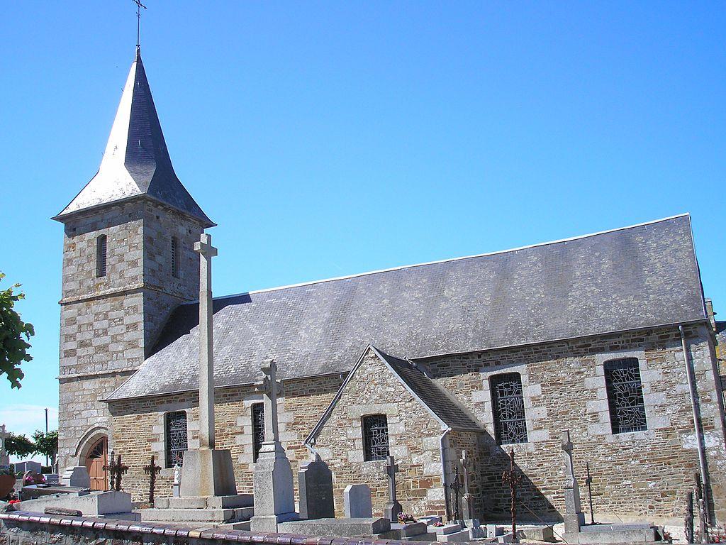 L'église Saint-Pierre.
