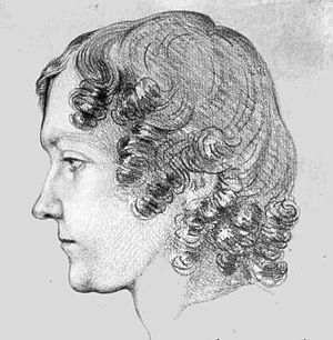 Frances Wright - 1835 portrait of Wright