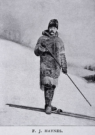 Mount Haynes - Image: Frank J Haynes Winter Expedition YNP1887