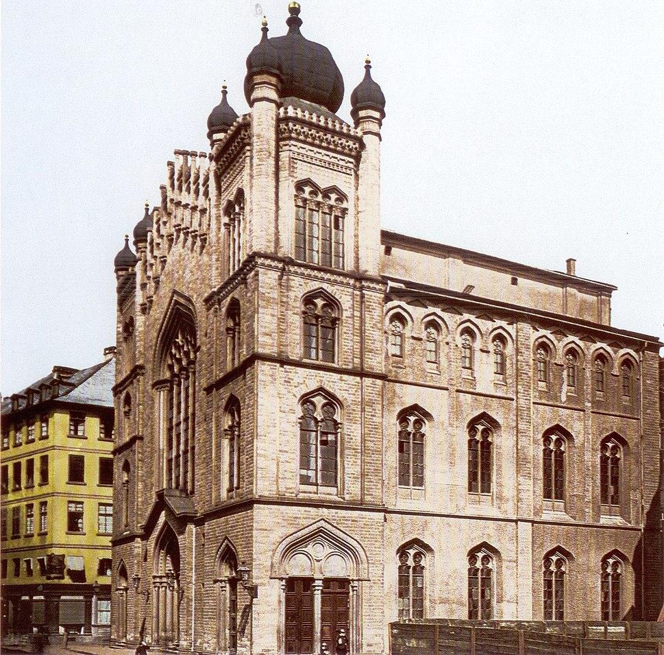 Frankfurt Hauptsynagoge 1885