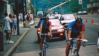 American racing cyclist