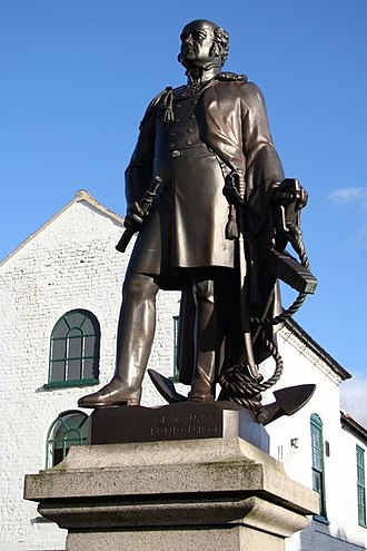 John Franklin - Statue of John Franklin in his home town of Spilsby