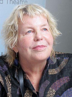 Lucinda Franks - Franks at the Miami Book Fair International, 2014
