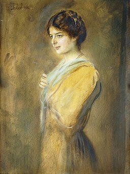 Franz von Lenbach - Porträt Gräfin Ilse Seilern