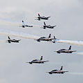 Frecce Tricolori NL Air Force Days (9288699571).jpg