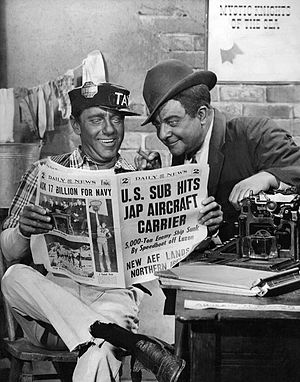 Amos 'n' Andy - Publicity photo of the pair while at CBS, circa early 1940s
