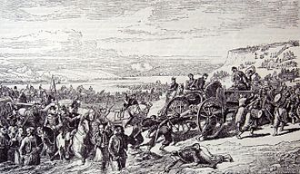 Battle of Alma - French troops at the Battle of the Alma