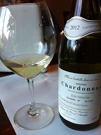 Languedoc-Roussillon wine - A Chardonnay from the Pay d'Oc.