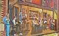 Fresco on a wall in Old St-Eustache, Québec, Canada. - Fresque sur un mur dans le vieux St-Eustache. - panoramio.jpg