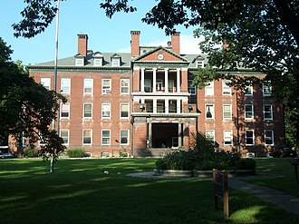 Harrisburg State Hospital - Image: Front of the former Harrisburg State Hospital, where 'Girl, Interrupted' was filmed