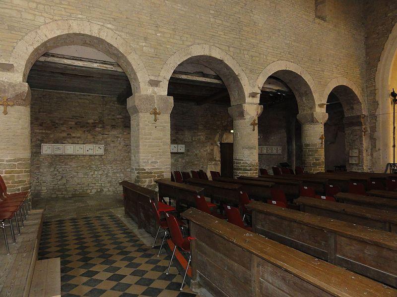 Froville (M-et-M) Prieuré, église, intérieur