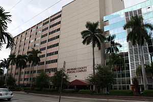 The Broward County Courthouse
