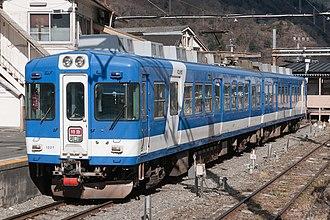 Fujikyuko Line - Image: Fuji Kyuko 1207 Otsuki