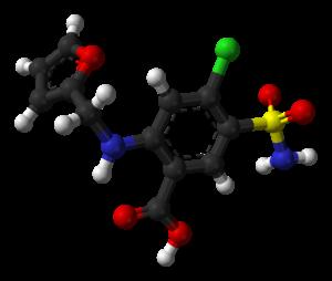 Furosemide - Image: Furosemide 1Z9Y 3D balls