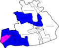 Fylde 2007 election map.png