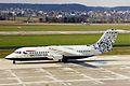 G-BXAR 1 B.Ae 146-RJ100 BA-CityFlyer ZRH 20MAR99 (6023048628).jpg