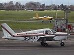 G-OMAT Piper Cherokee (24224633633).jpg