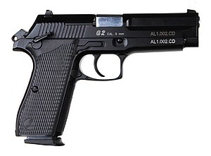 Pindad G2 - A Pindad G2 Combat pistol