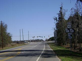 Georgia State Route 94 - Western terminus of SR 94