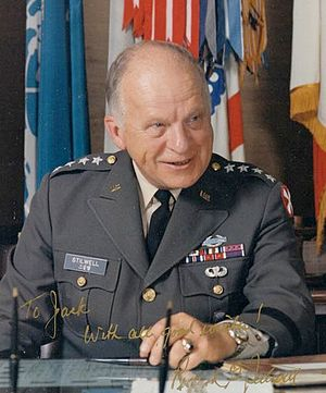 Richard G. Stilwell - General Stilwell in the 1970s