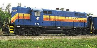 Seminole Gulf Railway - EMD GP9 of the Seminole Gulf Railway