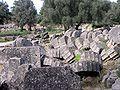GR 08-04-23 Olympia Zeustempel Saeulenreste.JPG