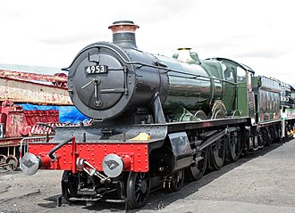 GWR 4900 Class 4953 Pitchford Hall - Image: GWR 4900 Class 4953 Pitchford Hall