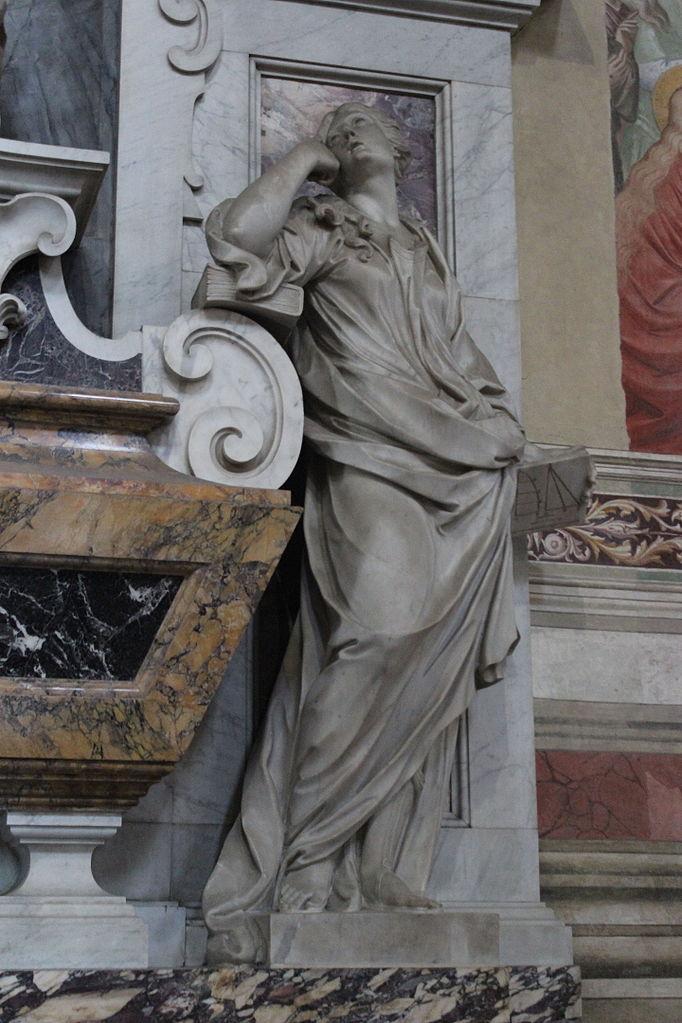 Girolamo Ticciati, Tomba di Galileo Galilei, (particolare)Basilica of Santa Croce,Firenze