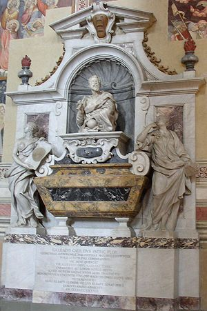 Giovanni Battista Foggini - Tomb of Galileo Galilei in Santa Croce, Florence.