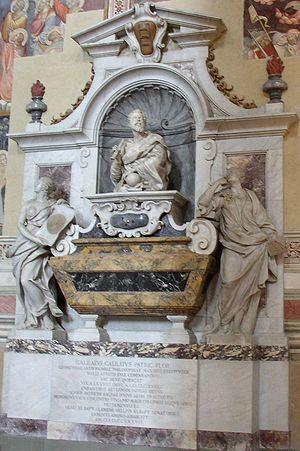 Giovanni Battista Foggini - Tomb of Galileo Galilei in Santa Croce, Florence.