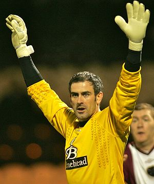 2007 Scottish Challenge Cup Final - Paul Gallacher conceded three goals within the first 30 minutes of the match.