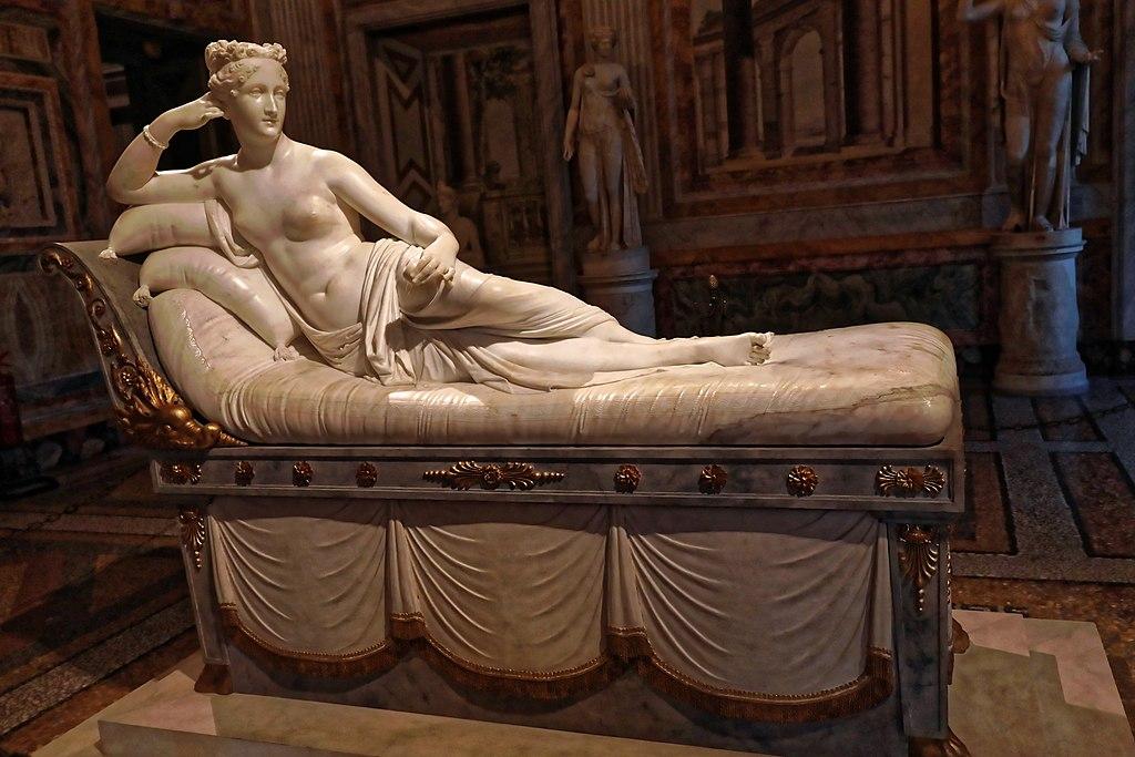 """""""Pauline Bonaparte as Venus Victrix"""" by Antonio Canova"""