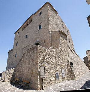 Province of Campobasso - Gambatesa Castle.