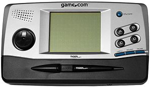 English: A Tiger Game.com handheld game system.