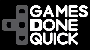 Games Done Quick - Image: Games Done Quick logo