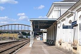 Gare de Bellac — Wikipédia