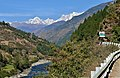 Garhwal Himalaya views from Rudrpryag to Ukhimath during a road journey in winter 03.jpg
